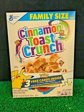 Lot of 7 Boxes - Cinnamon Toast Crunch Cereal Pokemon 25th Anniversary