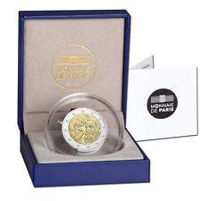 2 Euro Sondermünze 100. Todestag Auguste Rodin Frankreich 2017 PP im Etui