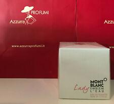Profumo Mont Blanc Lady Emblem L'Eau Eau De Toilette  50 ml Spray