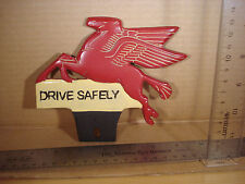 Flying Horse License Plate FOB Topper Wall Car Motorcycle