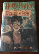 Harry Potter and the Goblet of Fire by J.K. Rowling 1st American Ed/1st Printing