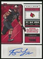 2018 Panini Contenders Draft Picks Trevon Young Auto College Ticket Rookie RC