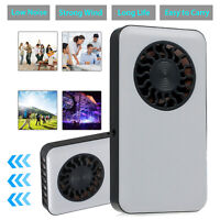 Mini Pocket Cooling Fan HandHeld Rechargeable Battery Operated Summer Cooler US