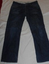 "Mens Levi's 506 Red Tab Button Fly Blue Jeans 32"" Waist 30"" Leg #202"