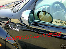 00-05 Chrysler PT Cruiser CHROME Door Mirror Cover for UK, Australia, RHD model