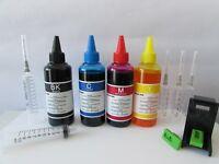 inchiostro ricarica cartucce  stampante hp 304 nero e 304 colore + refill clip