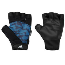 adidas Performance Gloves Blau Camo Fitness Handschuhe Trainingshandschuhe neu