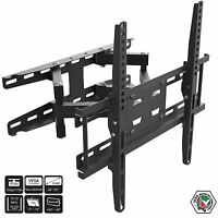 "Full Motion Swivel Tilt TV Wall Bracket Vesa Mount for LCD LED Plasma 26"" – 55"""