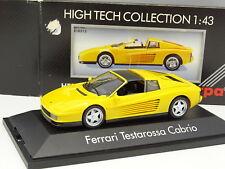 Herpa 1/43 - Ferrari Testarossa Cabriolet Jaune