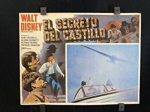 Vtg 1969 WALT DISNEY~ Guns in the Heather~ KURT RUSSELL~Auth. Mexican Lobby Card