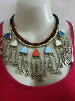 Afghan tribal Kuchi Necklace with stunning look from Pakistan