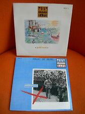 LOT 2 VINYLS 45 T – MEN THEY COULDN'T HANG : GOLD RUSH + SHIRT OF BLUE - POGUES