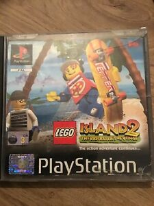 LEGO Island 2: The Brickster's Revenge PlayStation 1 (PS1) No Book