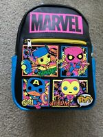 Funko Pop! Marvel Black Light Backpack Target EXCLUSIVE IN HAND QUICK FREE SHIP!