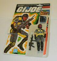 1989 GI Joe Cobra Python Viper Patrol Assault Figure Complete w/ File Card Back