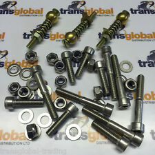 Land Rover Defender Rear Safari Door Stainless Steel Hinge Bolt & Pin Refurb Kit