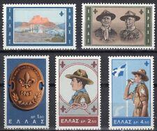 Greece- 1963 11th World Boy Scout Jamboree at lake Marathon complete set MNH **