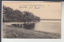 Scene on Spot Pond Melrose Mass MA