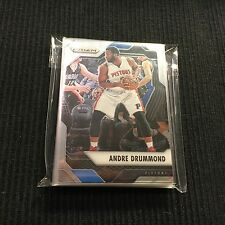 2016-17 PANINI PRIZM DETROIT PISTONS TEAM SET 10 CARDS  ANDRE DRUMMOND +