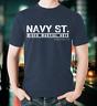 Navy St. T-Shirt Navy Kingdom MMA Mixed Martial Arts Gym TV Street Peter Series