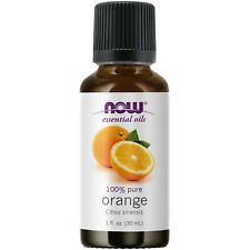 NOW FOODS 100% PURE Orange Oil 1oz (30 ml), Clearance for stained