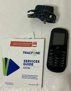 ALCATEL ONE TOUCH TRAC PHONE A207BG 50 MB  GENTLY USED