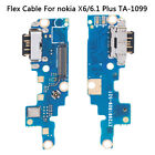Type-C USB Charging Port Charger Dock Connector Flex Cable For Noki X6/6.1 Pl PT
