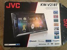 "JVC KW-V21BT Doppel DIN Multimedia Auto DVD/CD Name mit 6.2"" TOUCHSCREEN MO"