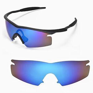 Polarized Blue Replacement Lenses for Oakley M Frame Strike