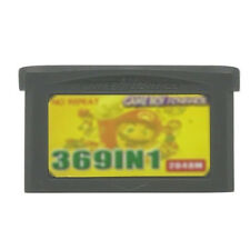 369 in 1 Multicart GBA Game Boy Advance w/ Case Pokemon Super Mario Advance