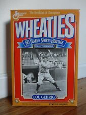 Vintage Wheaties Box 60 Years of Sports Heritage Collectors Edition – Lou Gehrig