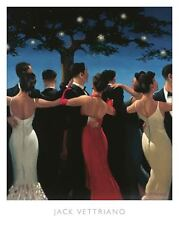 Waltzers by Jack Vettriano Art Print Poster Romantic Dance Romance Love 20x16