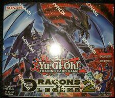 Yugioh Dragons of Legend 2 Booster Box |BRAND NEW SEALED Yu-Gi-Oh! TCG