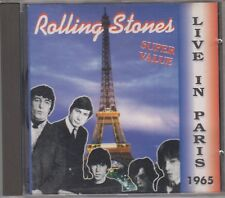THE ROLLING STONES CD LIVE IN PARIS 1965 On Stage 1993