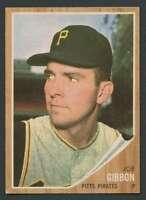 1962 Topps #448 Joe Gibbon EX/EX+ Pirates 21507