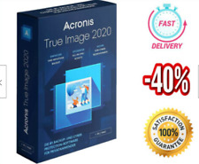 Acronis True Image 2020 🔥Unlimited Devices ✅ PRE-ACTIVATED?? Lifetime License ✅