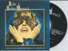 SOFIE & BOBBY WOMACK - I wanna know what love is CD SINGLE 2TR CARDSLEEVE 1995