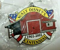 Vintage Walt Disney's Barn Centennial 1901-2001 Pin back