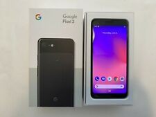 "Google Pixel 3 - 64GB - Just Black (Unlocked) 5.5"" Excellent Condition"