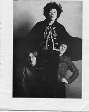 Original 1967 Jimi Hendrix Walker Brothers Humperdinck UK Concert program