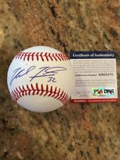 Michael Fulmer Autographed Romlb SS Rookie Ball W/Coa Detroit Tigers