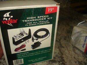 Vexilar 19° Degree High Speed Transducer Kit FL-8 & FL18  Item# TK144 Open Water