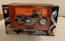 New listing Maisto 1:18 Harley-Davidson Flstf Fat Boy, Series 2, In Box