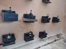 Cxa Quick Change Tool Post Holder Set 4 Pieces Qctp Mount Lathe Tool Mount