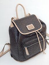 GUESS PASTIME SIGNATURE  BACKPACK LUGGAGE NATURAL NEW AUTHENTIC