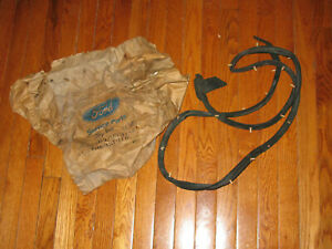 1966 Ford Thunderbird left hand NOS door weatherstrip with packaging    Box 1200