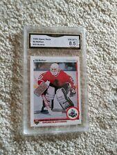 Ed Belfour GRADED ROOKIE!! 1990/91 Upper Deck #55 Blackhawks!! %8.5-1