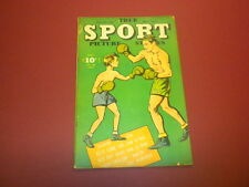 TRUE SPORT PICTURE STORIES Volume 3 #6 Street & Smith 1946