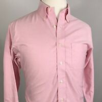 BROOKS BROTHERS MENS L/S SLIM FIT NON IRON SUPIMA COTTON BUTTON UP SHIRT 15.5 33