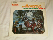 ARSENIO RODRIGUEZ Y Su Orquesta Vol. 2 LATIN Boogaloo Guaguanco LP HEAR Ansonia